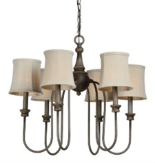 *ELLSWORTH 6-LT CHANDELIER