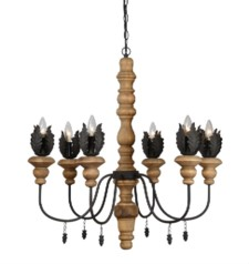 -*KENSINGTON 6-LT CHANDELIER
