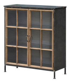 -*HIGHLAND GLASS CABINET