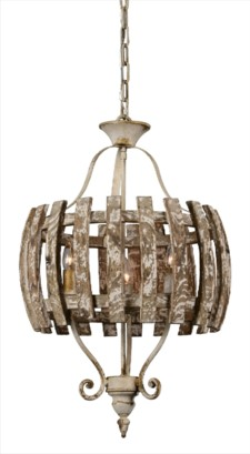 *CAROLINA 3-LT CHANDELIER