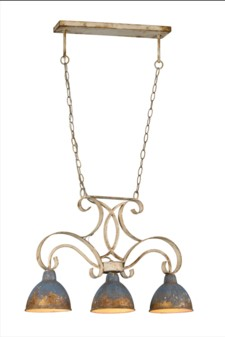 CRAWFORD 3-LT CHANDELIER