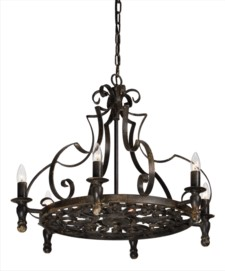 -CLIFTON 6-LT CHANDELIER