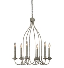 -SAMPSON 6-LT CHANDELIER