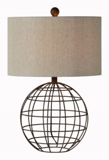 RUSTY TABLE LAMP