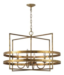 -AVALON 4-LT CHANDELIER