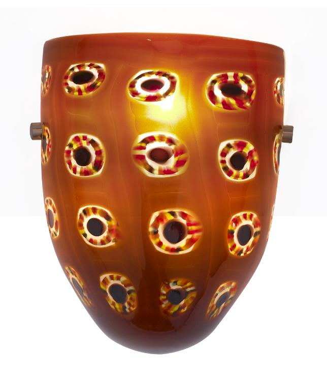 Sectionals extra wide home decoration club - Sconce Klimt Amber Oggetti Luce 98 Home Decoration Club
