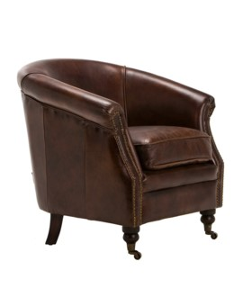 Artsome Mostar Leather Armchair