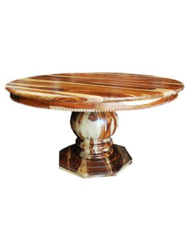 Mondovi Round Clear Table