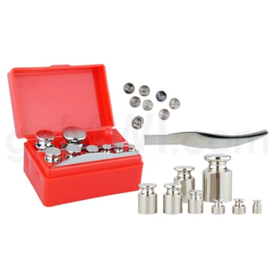 50G Calibration Weight Set - Chrome