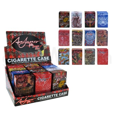Ami James Pop Up Cig Case 12PC/BX