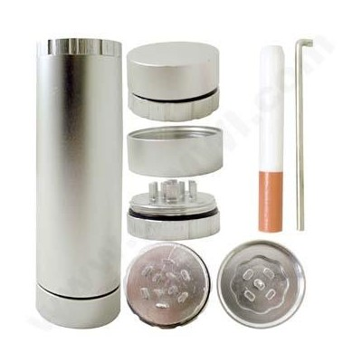 DISC  ALL N 1 Aluminum Container-Silver