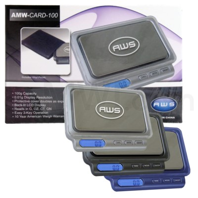 AWS AMW -CARD-100 100g x 0.01g Scales