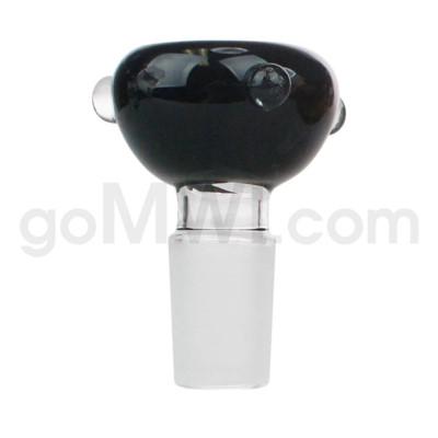 GOG 19mm Male Bowl w/ Tri-Marbles-Black