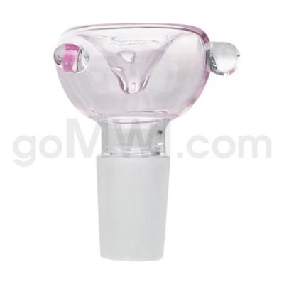 GOG 19mm Male Bowl w/ Tri-Marbles-Pink