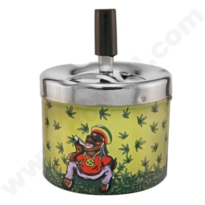 DISC Ashtray Cigarette Shape 8PC/BX