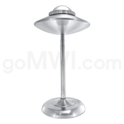 DISC Stainless Steel Iron Ashtray Silver