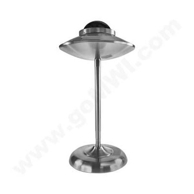 DISC Stainless Steel UFO Shape Iron Ashtray Silver