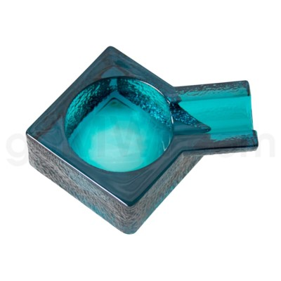 Glass Cigar Ashtray 4.75