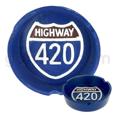 Ashtray Polystone 420 48/cs