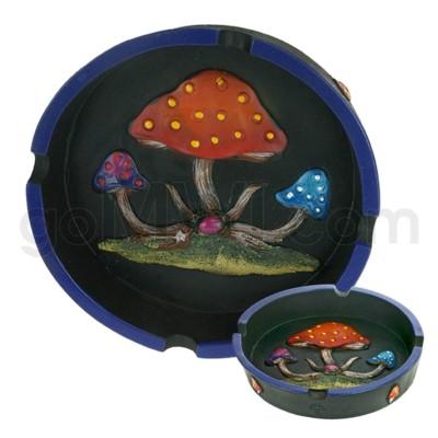 Ashtray Polystone Mushroom 48/cs