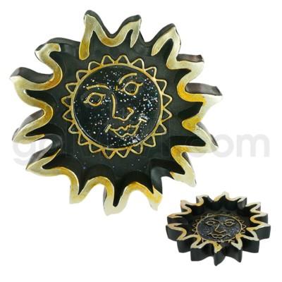 Ashtray Polystone Sun Shape 24/cs
