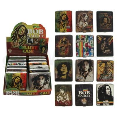 Bob Marley Leather Cigarette Case 100's 12PC/BX