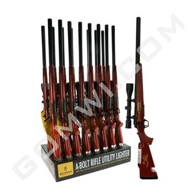 DISC  Browning A-Bolt Rifle Utility Lighter 16PC/BX