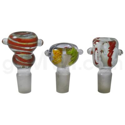GOG 19mm Bowl Square w/Marbles Asst. Designs/Colors