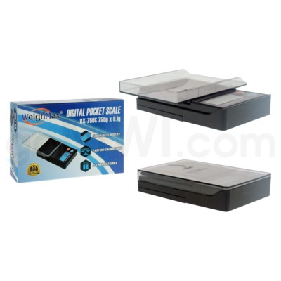 WeighMax BX-750C 750g 0.1g Clear Top Scales