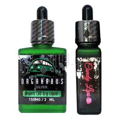 CBD Oil: Organabus Silver 30ml 150mg CBD -Candy Lips