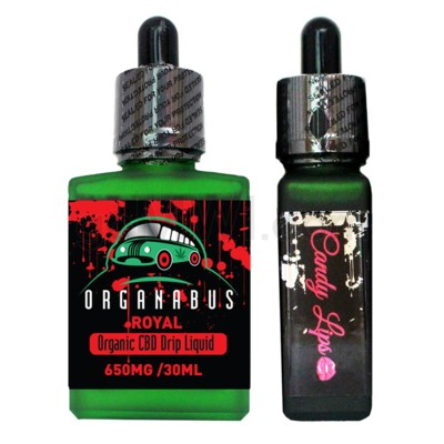 CBD Oil: Organabus Royal 30ml 650mg CBD Candy Lips Drip