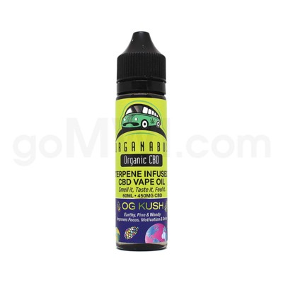 CBD Organabus 60ml 450mg Terpene Infused - OG Kush