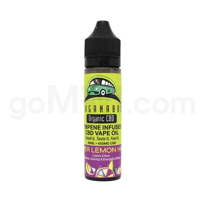 CBD Organabus 60ml 450mg Terpene Infused - Super Lemon Haze