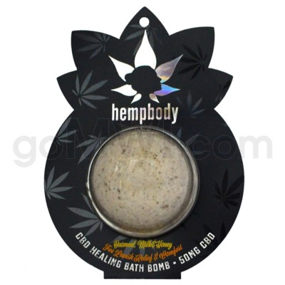 CBD Organabus Bath Bomb 50mg - Oatmeal Milk n' Honey