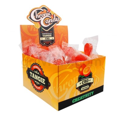 Chronic Candy CBD 10mg Lollipop-Tangie 60ct