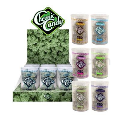 Chronic Candy Chocolate Nugs CBD 200mg 12ct/bx - Asst Flavors