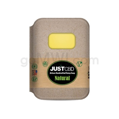 JUST CBD Soap Natural