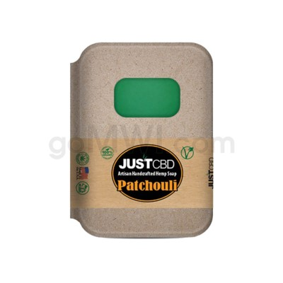 JUST CBD Soap Patchouli