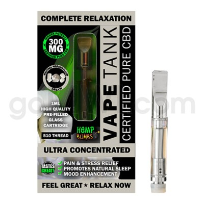 Hemp Bombs CBD Pre-Filled Tank 1ml / 300mg Whipped Marshmallo