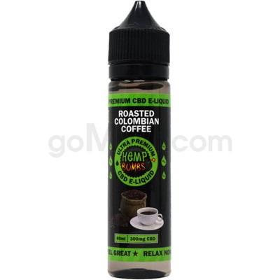 Hemp Bombs CBD E-Liquid 60ml /300mg Roasted Colombian Coffee