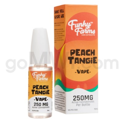 Funky Farms CBD 15ml 250mg Vape Peach Tangie