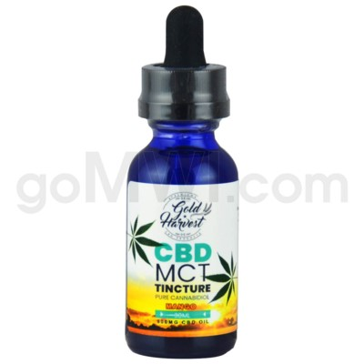 Gold Harvest CBD 30ml 500mg Tincture Mango