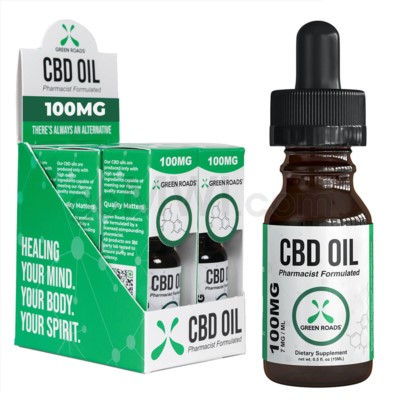 Green Roads CBD Oil 15ml 100mg 6PC/BX