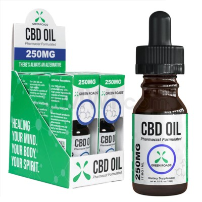 Green Roads CBD Oil 15ml 250mg 6PC/BX