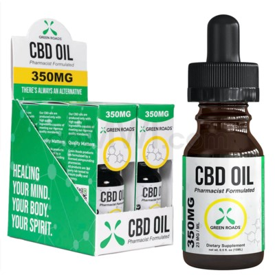 Green Roads CBD Oil 15ml 350mg 6PC/BX