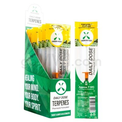 Green Roads CBD Daily Dose 1ml Pineapple 7mg/ct 20PC/BX