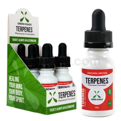 Green Roads CBD Terpenes Oil 100mg 15ml Original 6PC/BX