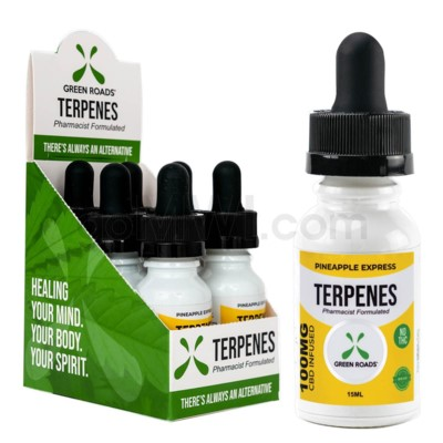 Green Roads CBD Terpenes Oil 100mg 15ml Pineapple 6PC/BX