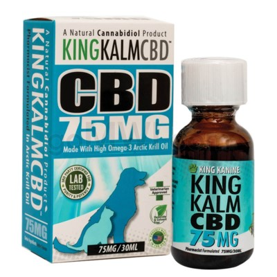Green Roads CBD King Kalm Pets 75mg 30ml