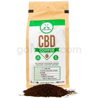 Green Roads CBD Coffee 16oz 500MG
